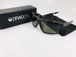 New DRAGON Matte Tortoise TENZIG 226 Sunglasses with G15 Green Lenses - $54.40