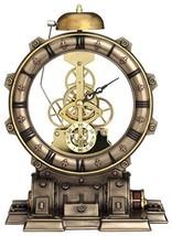 "8.5"" Steampunk Generator Striking Clock Home Decor Statue Figure - $94.50"