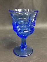 "Excellent Fostoria ""Argus"" Blue Water Goblet - $19.99"