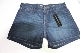 George & Martha Women's Blue Dark Stone Diane Shorts Size 37 NWT$36 - $8.59
