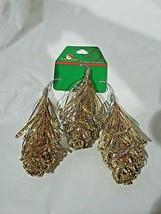 Kurt S. Adler Gold Twinklers Ornaments Set of 3 - $17.99