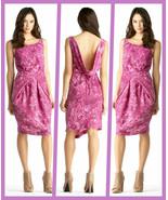 RACHEL by Rachel Roy Pink Aster Print Boat Neck Sleeveless Dress - Size ... - $64.95