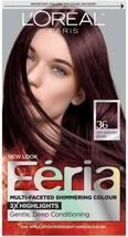 L'oreal Feria - 36 Deep Burgundy Brown - $14.99