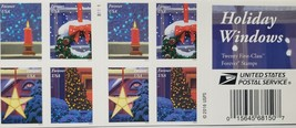 Holiday Windows 1st Class (USPS) 2016  FOREVER Stamps 20 - $15.95