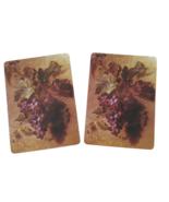 2 Single Swap Fine Art Painting Purple Grapes Still Life Playing Cards P... - $1.98