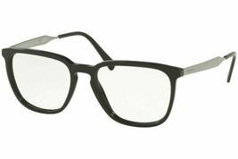 Prada Gafas PR07UV 1AB1O1 55MM Cuadrado Negro Gafas Óptico Gafas - $118.80