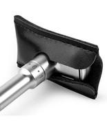 QSHAVE® Razor Case Genuine Leather Double Edge Safety Head Sleeve Protec... - $6.92