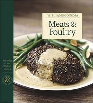 Williams-Sonoma The Best of the Kitchen Library: Meats & Poultry William... - $16.64
