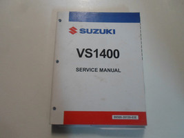 1991 Suzuki VS1400 Service Repair Manual Damaged Loose Pages Factory Oem Book 91 - $23.72