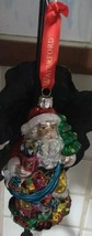 """NEW IN BOX WATERFORD HOLIDAY HEIRLOOMS """"SANTA'S BAG OF GIFTS"""" TREE ORNAMENT - $26.59"""