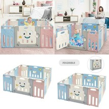 14-Panel Foldable Baby Playpen Kids Activity Centre - $173.23+