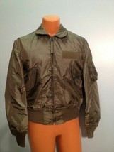 SUMMER AIR FORCE FLYERS COAT JACKET CWU-36/P LARGE  ITEM# B1 - $84.15
