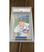 1985 FLEER Autografato Scheda Gary Woods Chicago Cubs A'S Blu Jays Astro... - $99.86