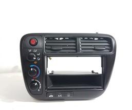 99 00 Honda Civic EX DX LX Radio Dash Bezel Climate Control OEM - $98.99