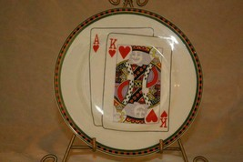 American Atelier Casino King Of Hearts Salad Plate - $4.15