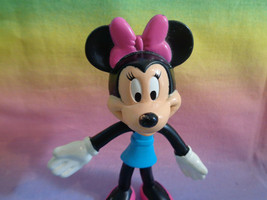 Walt Disney World Resort Minnie Mouse Bendy Toy Figure - as is - $2.23