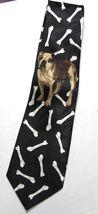 Bulldog French English Dog Bone Necktie Tie Fratello UGA Georgia Yale Gonzaga image 5