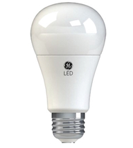 GE LED Light Bulb 67615 Dimmable A19 with Medium Base Soft White (4 Pack) - $8.97