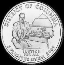 Gem Unc United States 2009-D District Of Columbia Territorial Quarter~Fr... - $1.95