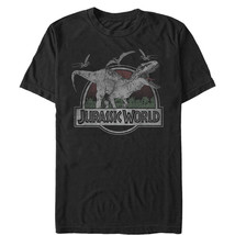 Jurassic World T. Rex and Pterodactyls Mens Graphic T Shirt - $10.99