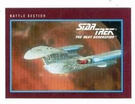Star Trek The Next Generation card #254 Battle Section - $3.00