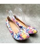 Audrey Brooke Womens Newport Sz 9.5 M Multicolor Textile Slip On Ballet Flats - $24.99