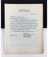 1957 Military USAF Air Force Command and Staff College Alabama Walker Ya... - $29.69