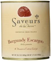 Saveurs de la Terre Burgundy Escargots, 17.5Oz