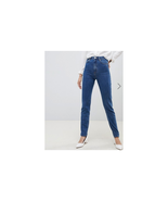 ASOS DESIGN Tall Recycled Farleigh high waisted slim mom jeans in mid wa... - $29.69