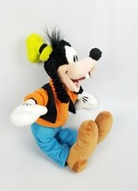 Goofy Plush Disney Authentic Stuffed Toy Mickey Mouse Pal 12 Inch Orange... - $12.33