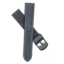 Swiss Army Brand 20mm Black Rubber Centurion Ratchet Series Watch Band 23502 - $24.75