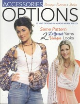 Leisure Arts Accessories Options 12 Knitting Patterns 4371 Shrug Scarf S... - $12.71