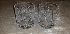 2 NACHTMANN TRAUBE Whiskey Tumbler Crystal Glass Glasses Barwear Clear G... - $39.99