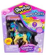 Shopkins Happy Places Boho Feathers Unicorn Lil' Pony figure Rainbow Beach - $10.95