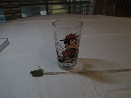 Pepsi Collector Series Dudley Do-Right in Canoe Glass vintage 1970's Do ... - $10.88