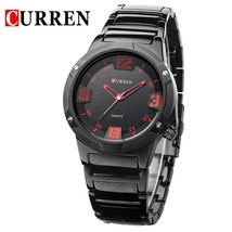 CURREN Business Men Watch  Fashion  High Quality Wristwatch Male Stainless Steel - $41.17
