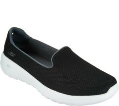 Skechers GO Walk Joy Slip-on Shoes - Radiant Black/White 9 W - $39.59