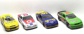 4 Ertl+Racing Champions 1/24 Die Cast Cars #21 Bowcher+#51 Brown+#18 Jarett - $51.41