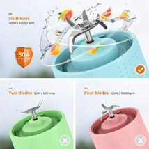 Personal Size Portable Blender by Aoozi image 3