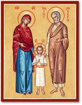 "Holy Family Icon 4.5"" x 6"" Prints With Lumina Gold"