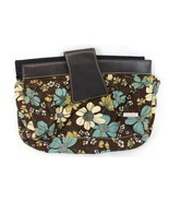 Miche Brown Blue Cream Floral Print Corduroy Ma... - $7.52