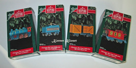 Hallmark Christmas Sky Line Train - Locomotive, Coal & Stock Car & Caboose - NIB - $24.14