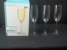 Libbey Dailyware 3 Piece Toasting Champagne Flutes Set - $10.84