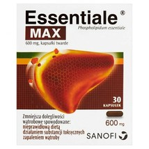 SANOFI Essentiale MAX Liver support  30pills-FREE SHIPPING - $18.80