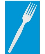 Dixie - FH217 - Plastic Forks Bulk Pack - Standard Weight - Qty.1000 - W... - $59.35