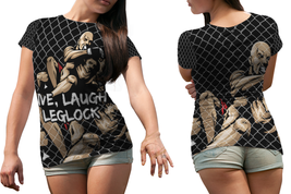 Live, Laugh, Leglock (MMA Meme)  Women T Shirt - $19.99