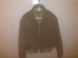 Ralph Lauren Polo  Wool  Herringbone full zipper Coat Jacket Mens Large - $95.04