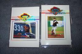 "1993 Topps  Baseball Stadium Club Master Photo (5"" x 7"") Greg Maddux & ... - $3.99"