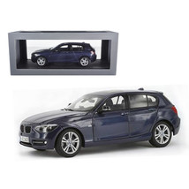 BMW F20 1 Series Blue 1/18 Diecast Car Model by Paragon 97005bl - $93.33