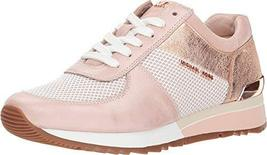 MICHAEL Michael Kors Women's Allie Trainer Soft Pink 8 M US